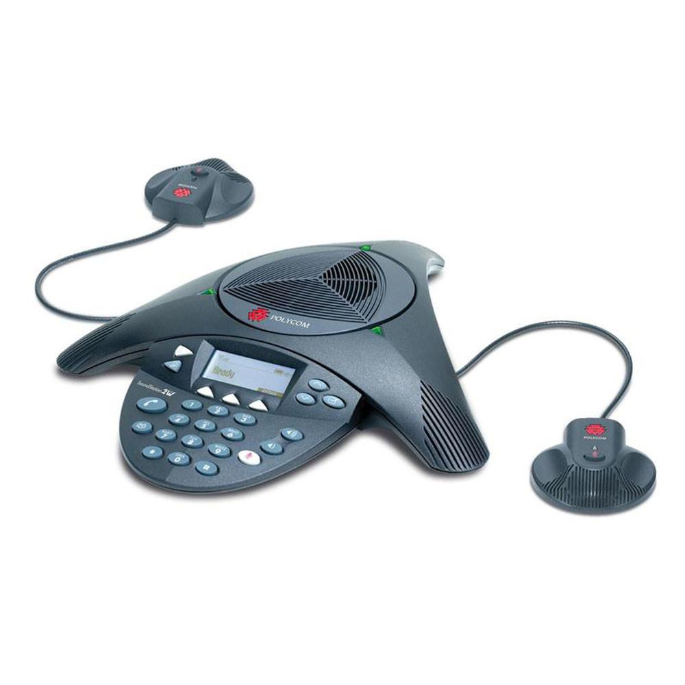 Polycom Soundstation 2 EX with mics