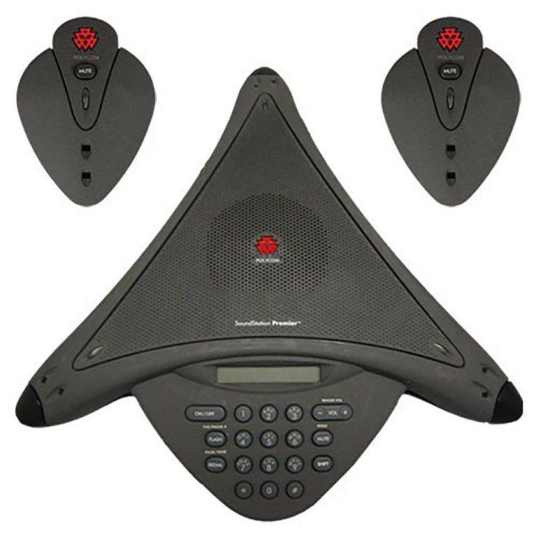 Polycom Soundstation Premier EX includes Satellite with four mics