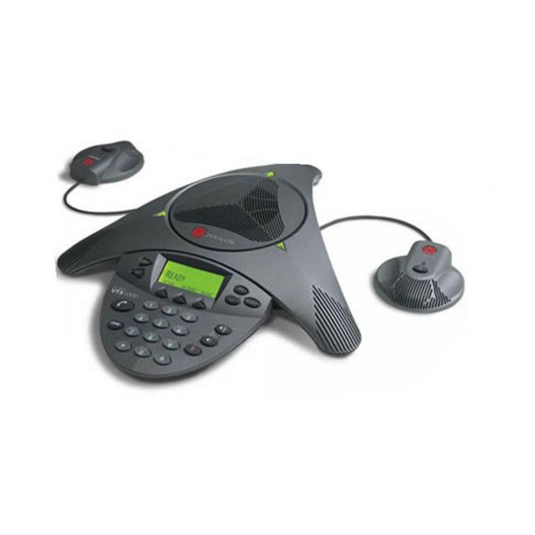 Polycom Soundstation VTX 1000 with mics