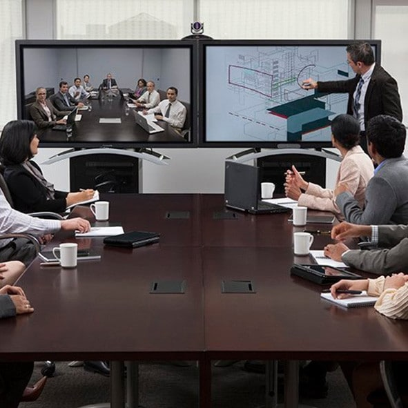 polycom uc board in conference room