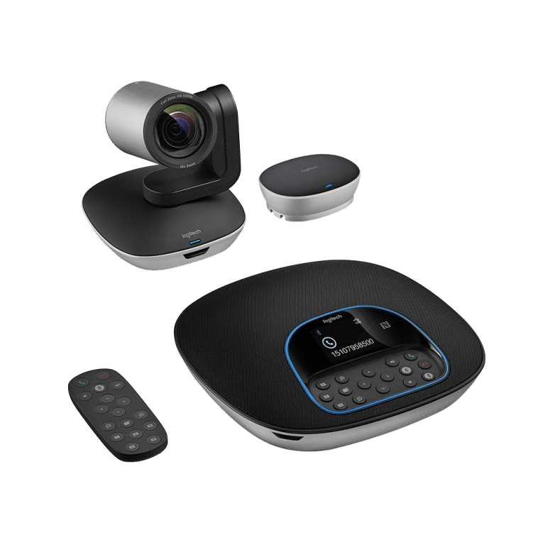 Logitech Group Conference Camera Bundle with Speakerphone