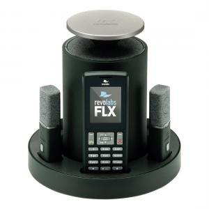 Revolabs FLX2 VoIP with One Omni & One Wearable Microphone, Connect to Computer USB