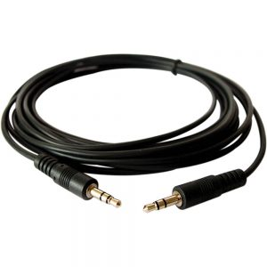 Cable - 8ft, 3.5mm to 3.5mm Male to Male