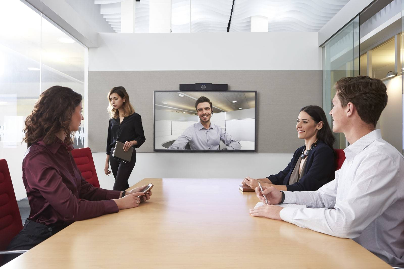 The Polycom Studio is the Ultimate Web Conferencing Solution for Huddle Rooms