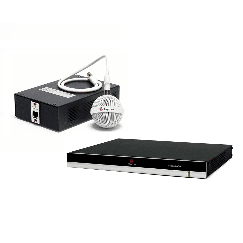polycom soundstructure c8 + ceiling microphone