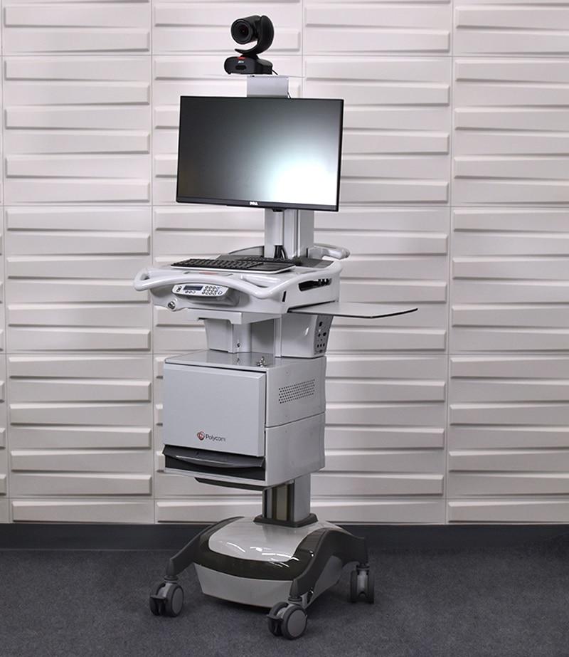 Polycom Med cart