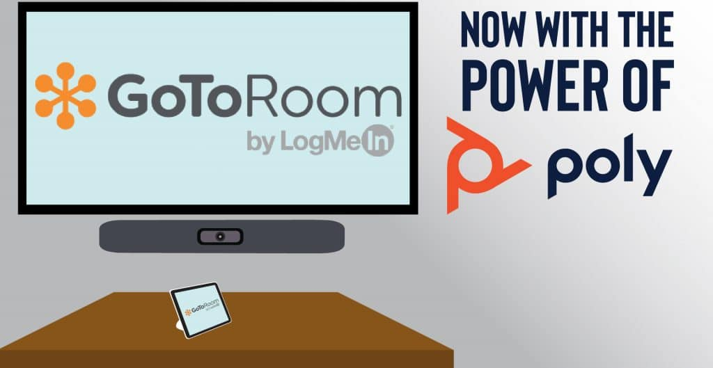 GoToRoom Now Available With Poly Studio X & Poly G7500. Use GoToMeetings Room App With Polycom