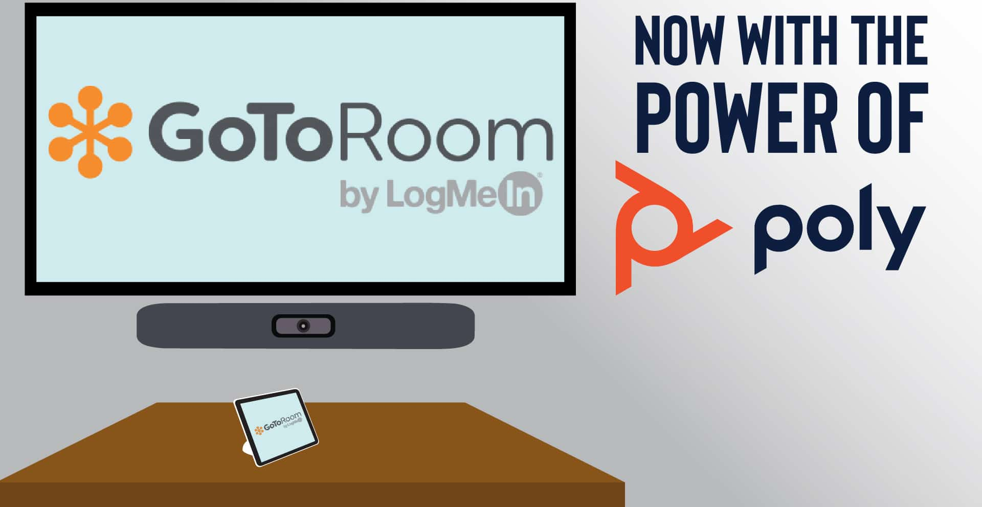 Poly Announces Native Interoperability For GoToRoom by LogMeIn