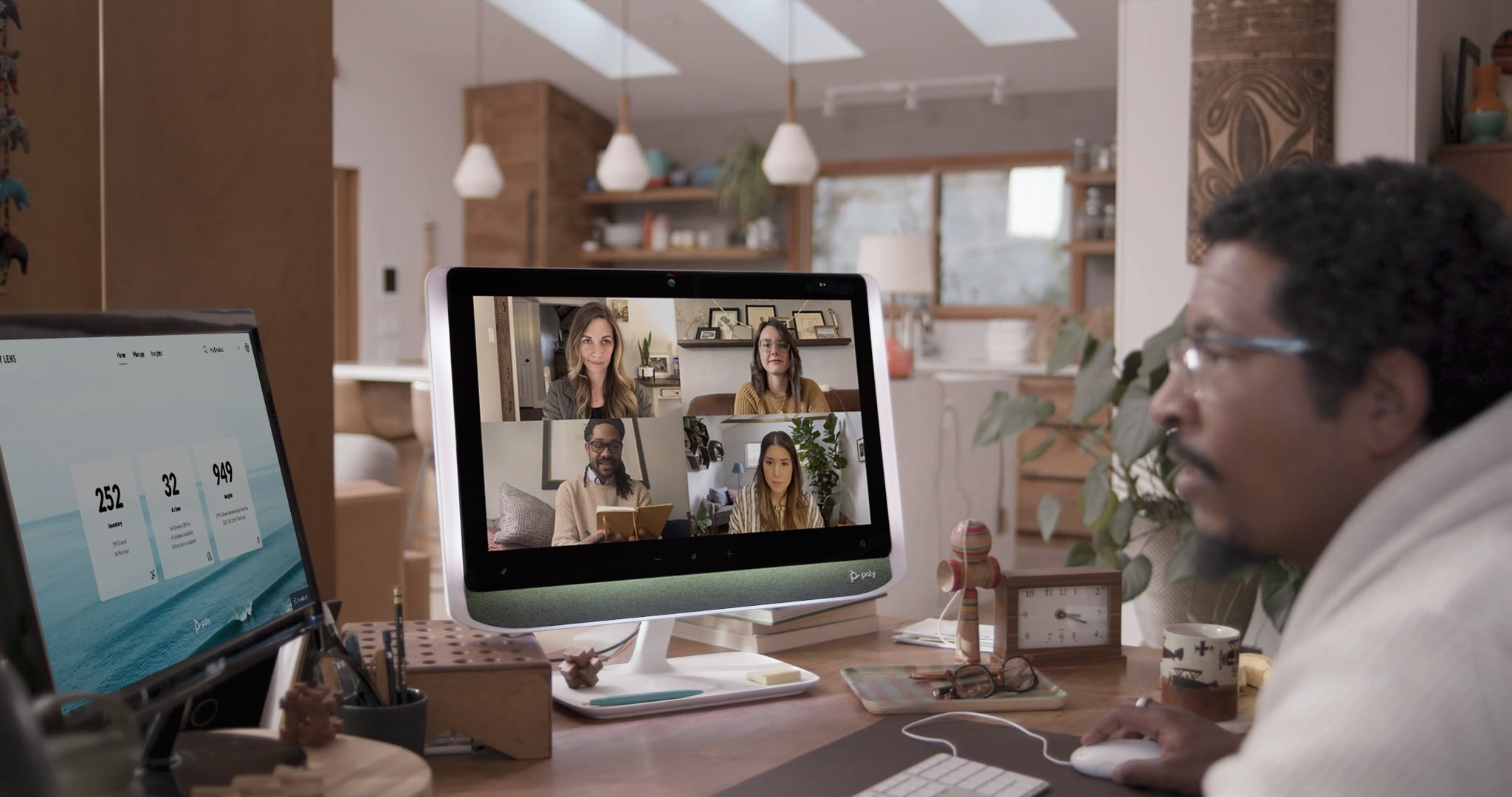 Poly's New Studio P Series, The New Work from Home Solution