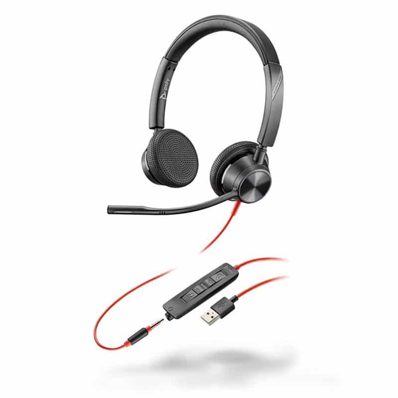 Poly Blackwire 3325 USB-A