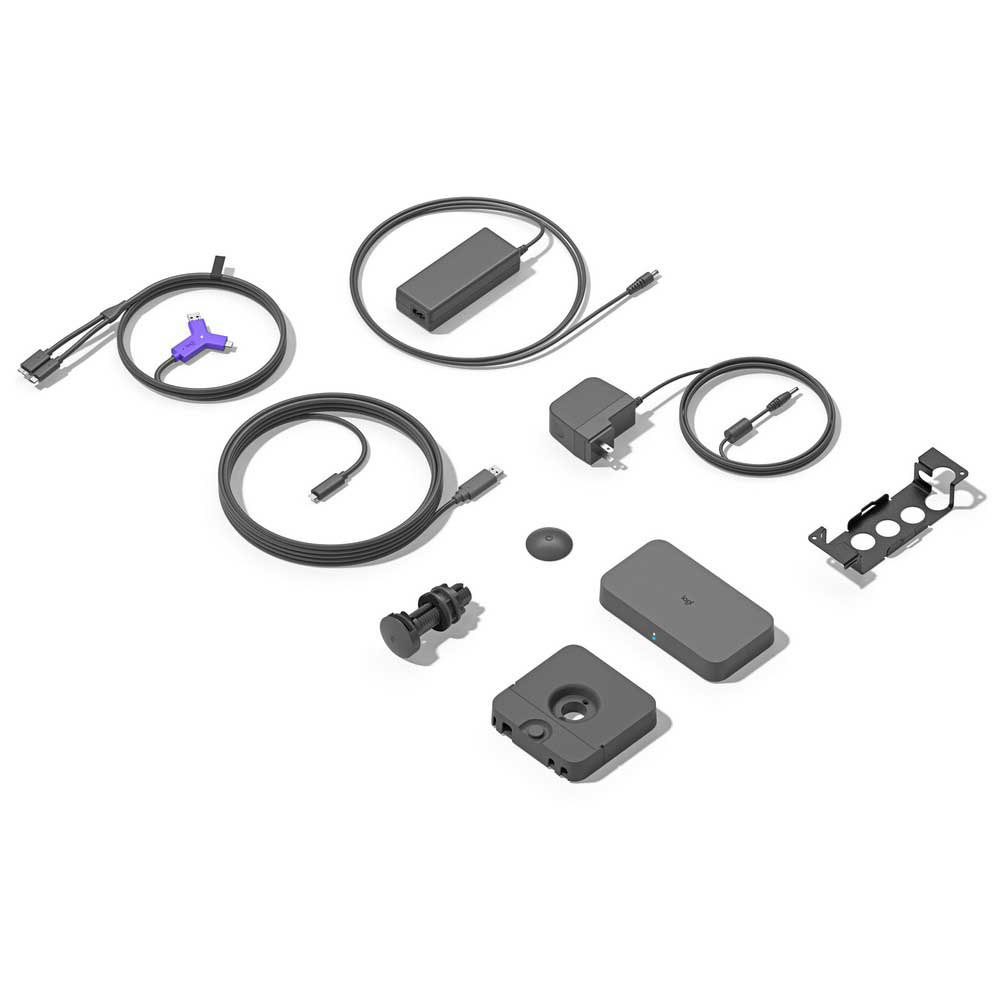 Logitech Swytch - Display of Everything Included in Package