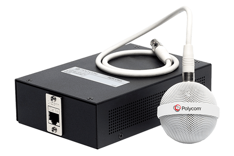 Polycom Ceiling Mic and Sound Structure